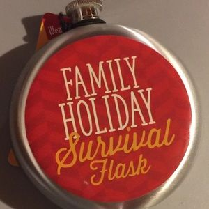 Holiday Party Flask Family Survival
